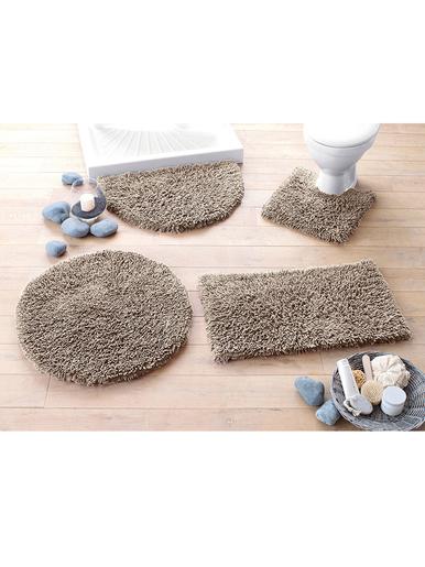 Tapis de bain Confort pur coton - Becquet - Marron taupe