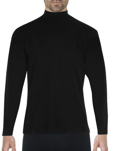 Tee-shirt manches longues Ligne Chaude - Eminence - Noir