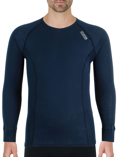 Tee-shirt manches longues Thermik - Athéna - Gris anthracite