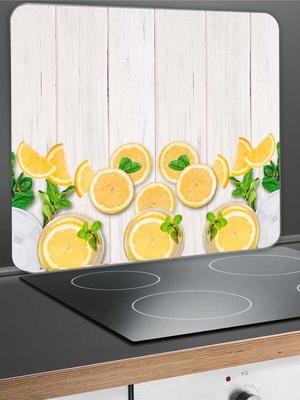 Protège-mur citrons