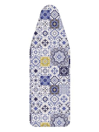 Housse de repassage imprimée - Carré d'azur - Carreaux bleu
