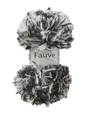 Fil à tricoter Fauve, effet fourrure