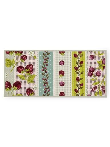 Tapis antiglisse fruits - Carré d'azur - Imprimé