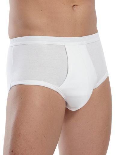 Slips ouverts pur coton lot de 2 - Eminence - Blanc