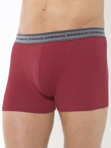 Shorties coton stretch Athena lot de 4 - Athéna - Gris/prune/bleu/noir