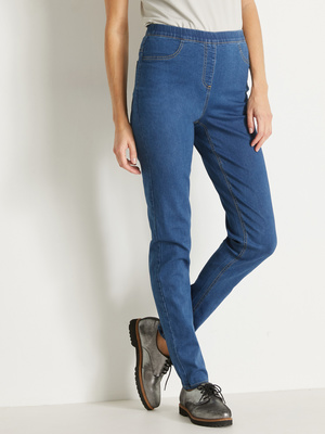 Tregging en denim