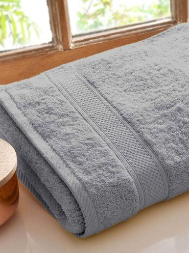 Lot de 2 serviettes Lauréat Confort - Becquet - Gris perle