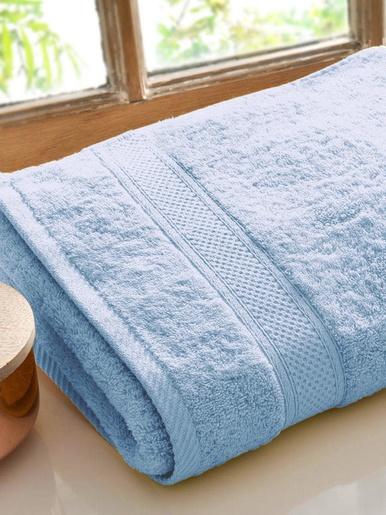 Drap de bain Lauréat Confort - Becquet - Bleu