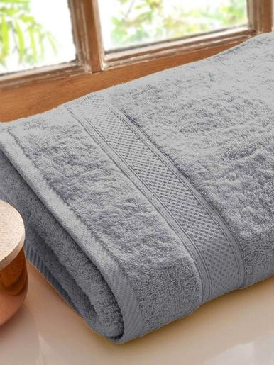 Drap de bain Lauréat Confort - Becquet - Gris perle