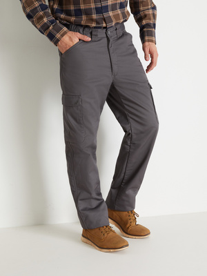 Pantalon multipoches doublé polaire