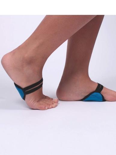Support plantaire, la paire -  - Bleu et noir