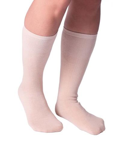 Chaussettes grand confort, doublées gel -  - Beige
