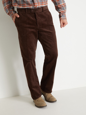 Pantalon velours à ceinture réglable