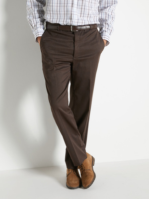 Pantalon ville élastiqué 43% laine