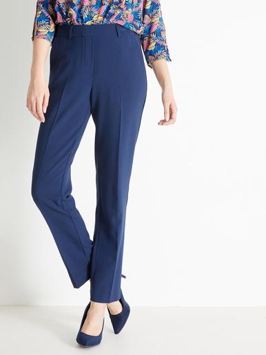 Pantalon entièrement élastiqué - Charmance - Marine