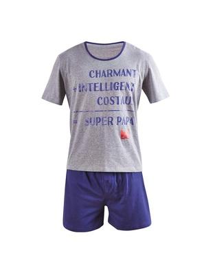 Pyjashort Super papa, coton