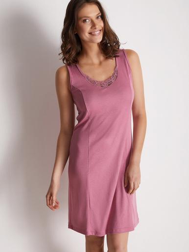 Fond de robe en douce maille - Lingerelle - Framboise