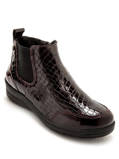 Boots fourrées aérosemelle® amovible - Pédiconfort - Bordeaux