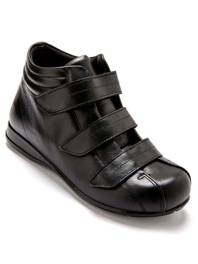 Boots ultra larges spécial diabétiques - Pédiconfort - Noir