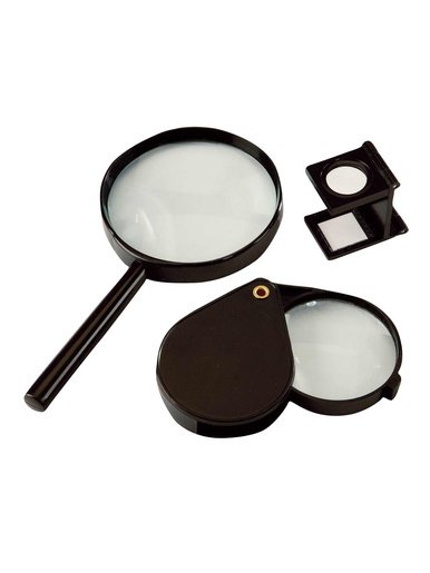 Loupes lot de 3 -  - Noir