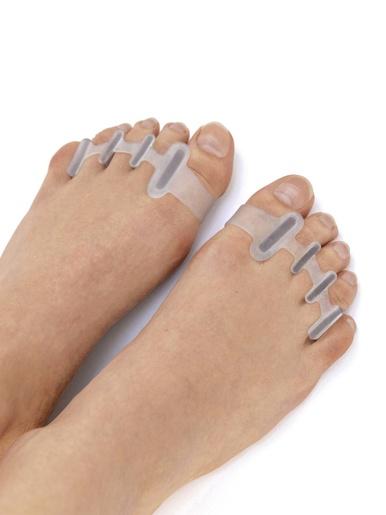 Séparateurs d'orteils la paire -  - Blanc