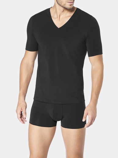 Tee-shirt col V ZERO Feel - Sloggi - Noir