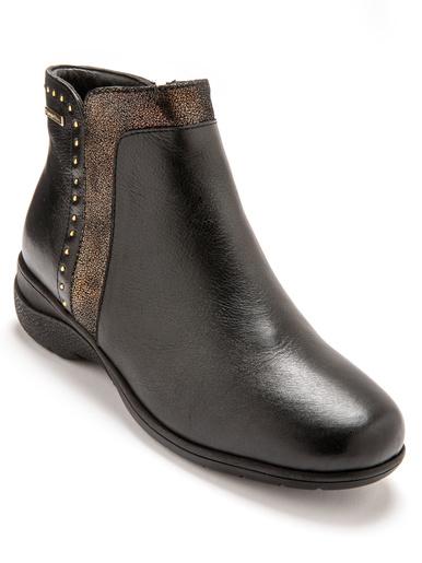 Boots fourrées imperméables - Pédiconfort - Noir