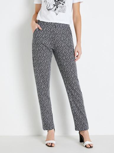 Lot de 2 pantalons en maille pur coton