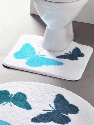 Tapis de bain Papillons