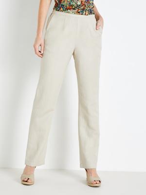 Pantalon 55% lin