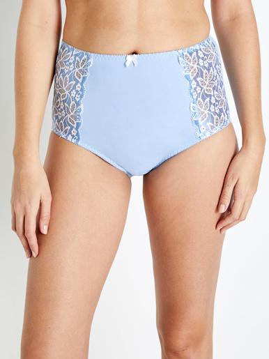 Culotte maxi, effet ventre palt - Balsamik - Bleu