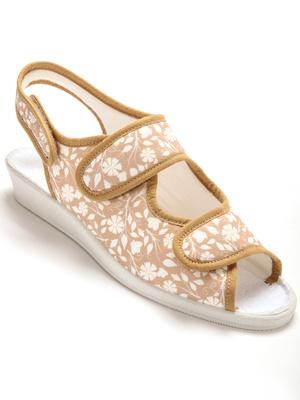 Sandales ultra souples, ouverture totale