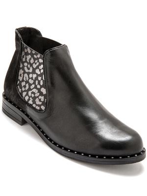Boots avec élastique d'aisance