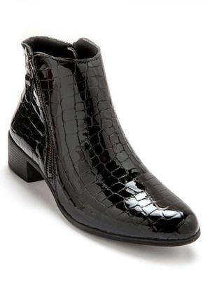 Boots à double zip et aérosemelle®
