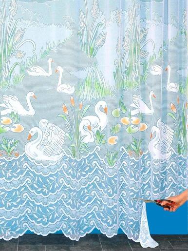Panneau modulable motif cygnes - Carré d'azur - Peint