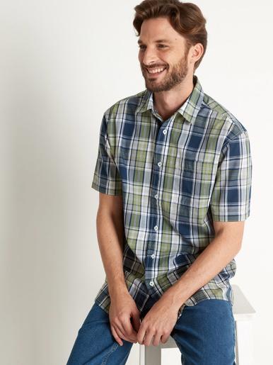 Lot de 2 chemises à carreaux - Honcelac - Carr. multicolore