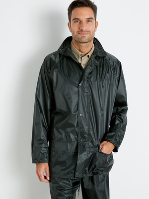 Ensemble de pluie, enduction PVC