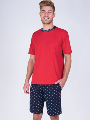 Pyjama court col rond A vos marques