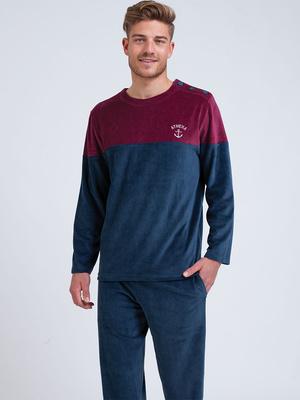 Pyjama col rond Velours
