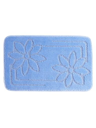 Tapis de bain unis, antidérapants -  - Bleu