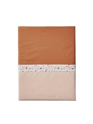 Drap plat Toi & Moi, percale pur coton