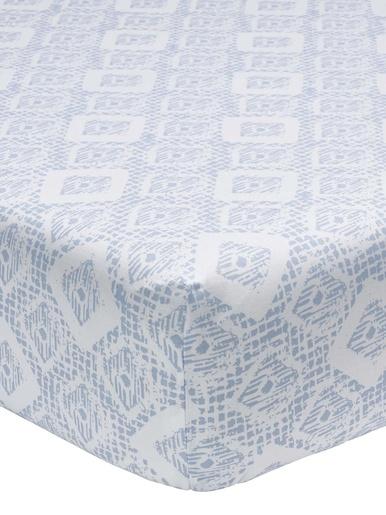 Drap-housse Malo, lyocell et coton - Origin - Bleu
