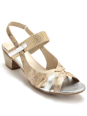 Sandales tendance, cuir