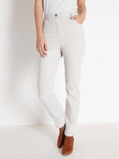 Jean 5 poches, spécial ventre rond