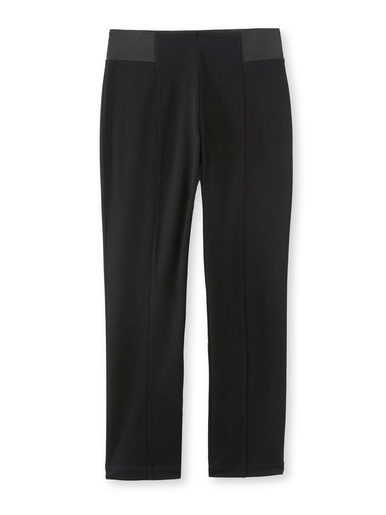 Pantalon ventre plat à larges élastiques