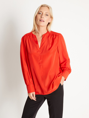Blouse ample, manches longues