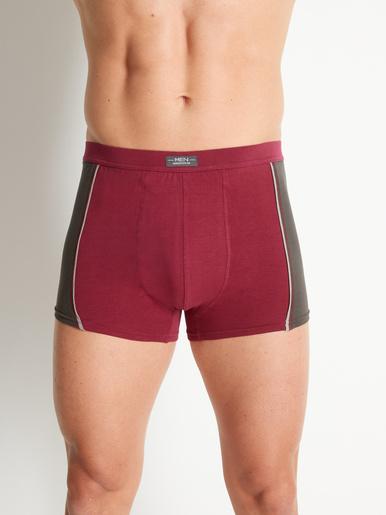 Shorties coton stretch, lot de 4 - Honcelac - Assortis