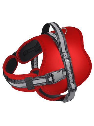 Harnais ajustable pour chien -  - Rouge