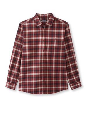 Lot de 2 chemises en flanelle pur coton