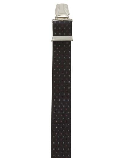 Bretelles fantaisie réglables - Honcelac - Imprimé gris